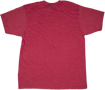 Jackson Logo Men's T-Shirt, Heather Red, L