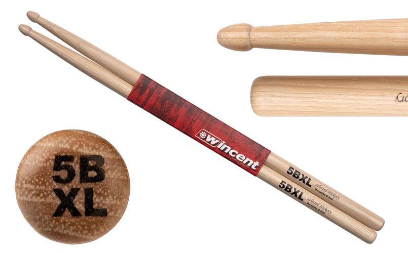 Wincent W-5BXL Hickory Drumsticks