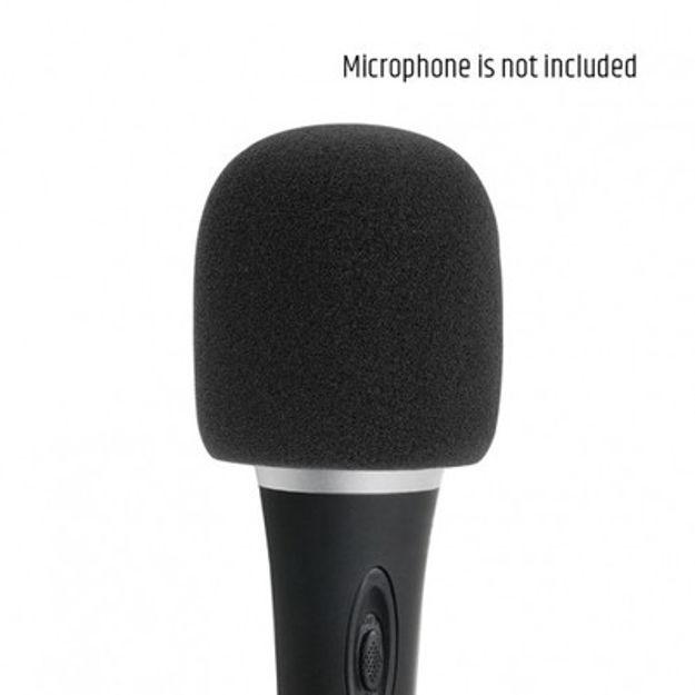 Adam Hall Stands D 913 BLK - Windscreen for Microphone black | pris pr stk