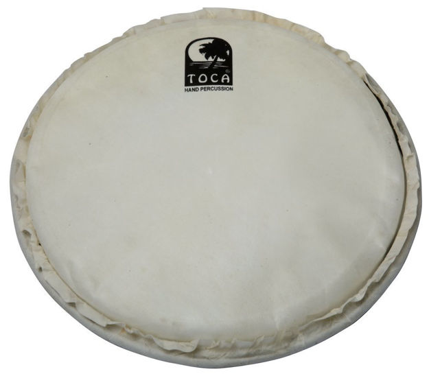 "Toca Djembe head Freestyle Mech. Tuned 10"" goatskin natural, mech - TP-FHM10"