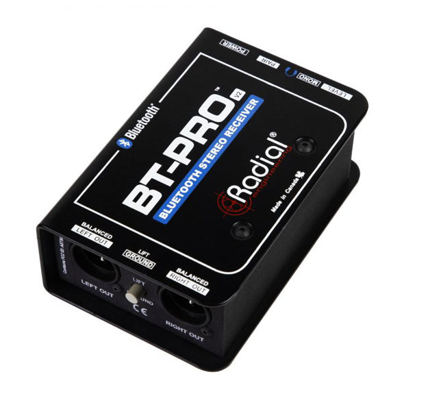 Radial BT-Pro Bluetooth V2 Stereo Direct Box