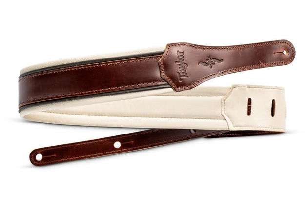 TaylorWare 4105-25 Taylor Renaissance Strap, Med Brown, Leather, 2.5""