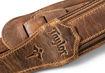 "TaylorWare 4109-25 Taylor Wings Strap, Dark Brown Leather, 2.5"""