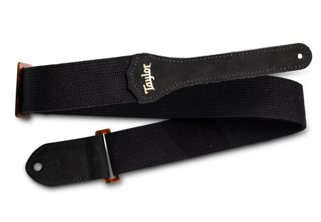 "TaylorWare 4002-20 Taylor GS Mini Strap, Black Cotton, 2"""