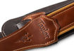 "TaylorWare 4107-25 Taylor Century Strap, Med Brown Leather, 2.5"" Med Brown/Butterscotch/Black"