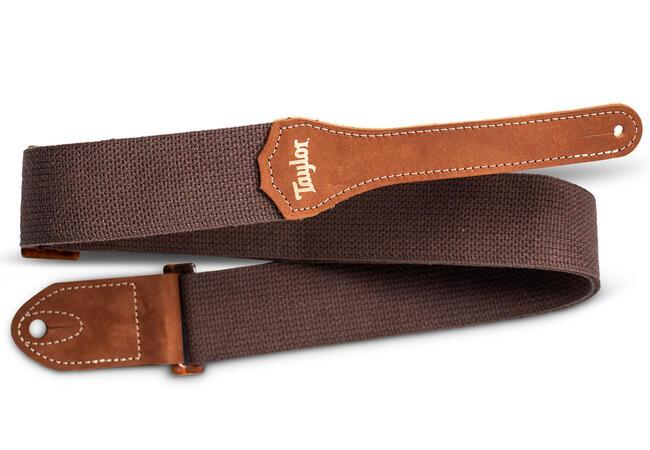 "TaylorWare 4001-20 Taylor GS MinI Strap, Chocolate Brown Cotton, 2"""