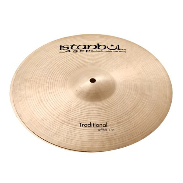 "Istanbul Agop MNH12 12"" Traditional Mini Hi-Hats"