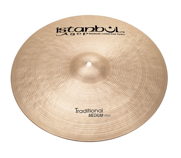 "Istanbul Agop MC16 16"" Traditional Medium Crash"