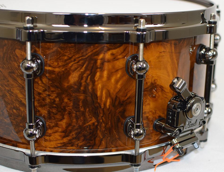 Pearl MWA1465S.BN Masterworks 14 x 6.5 snare drum