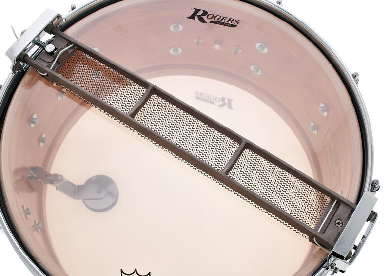 Rogers DynaSonic 14x6.5 Wood Shell Snare   B&B Lug - White Marine Pearl