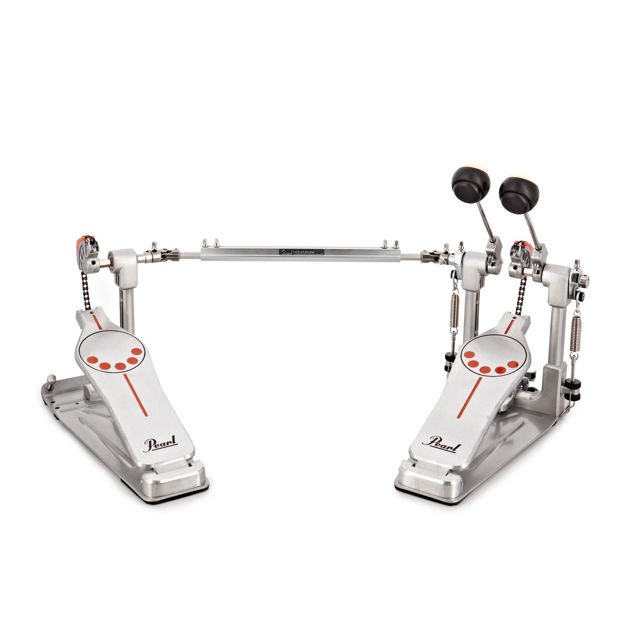 Pearl P-932 Demonator Bass Drum Twin Pedal w/Interchangeable Cam