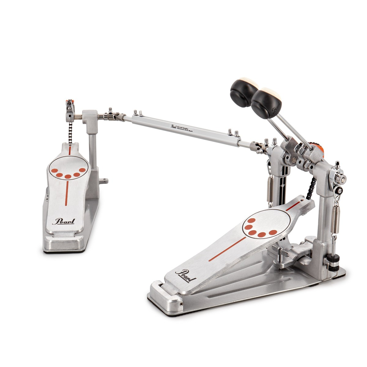 Pearl P-932 Demonator Bass Drum Twin Pedal w/Interchangeable Cam