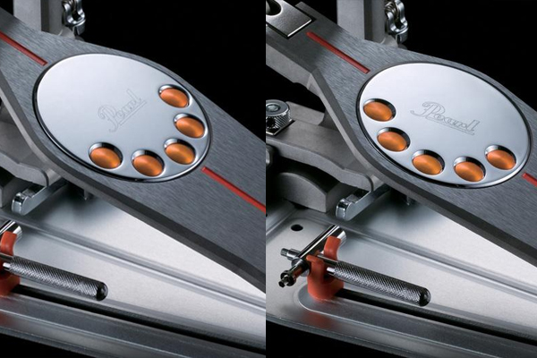 Pearl P-3000C Demon Single Chain Bass Drum Pedal w/Case