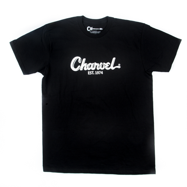 Charvel Toothpaste Logo Men's T-Shirt, Black, L