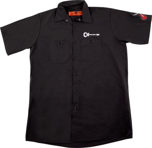 Charvel Patch Work Shirt, Gray, S