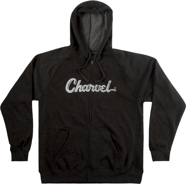 Charvel Logo Hoodie, Charcoal, S