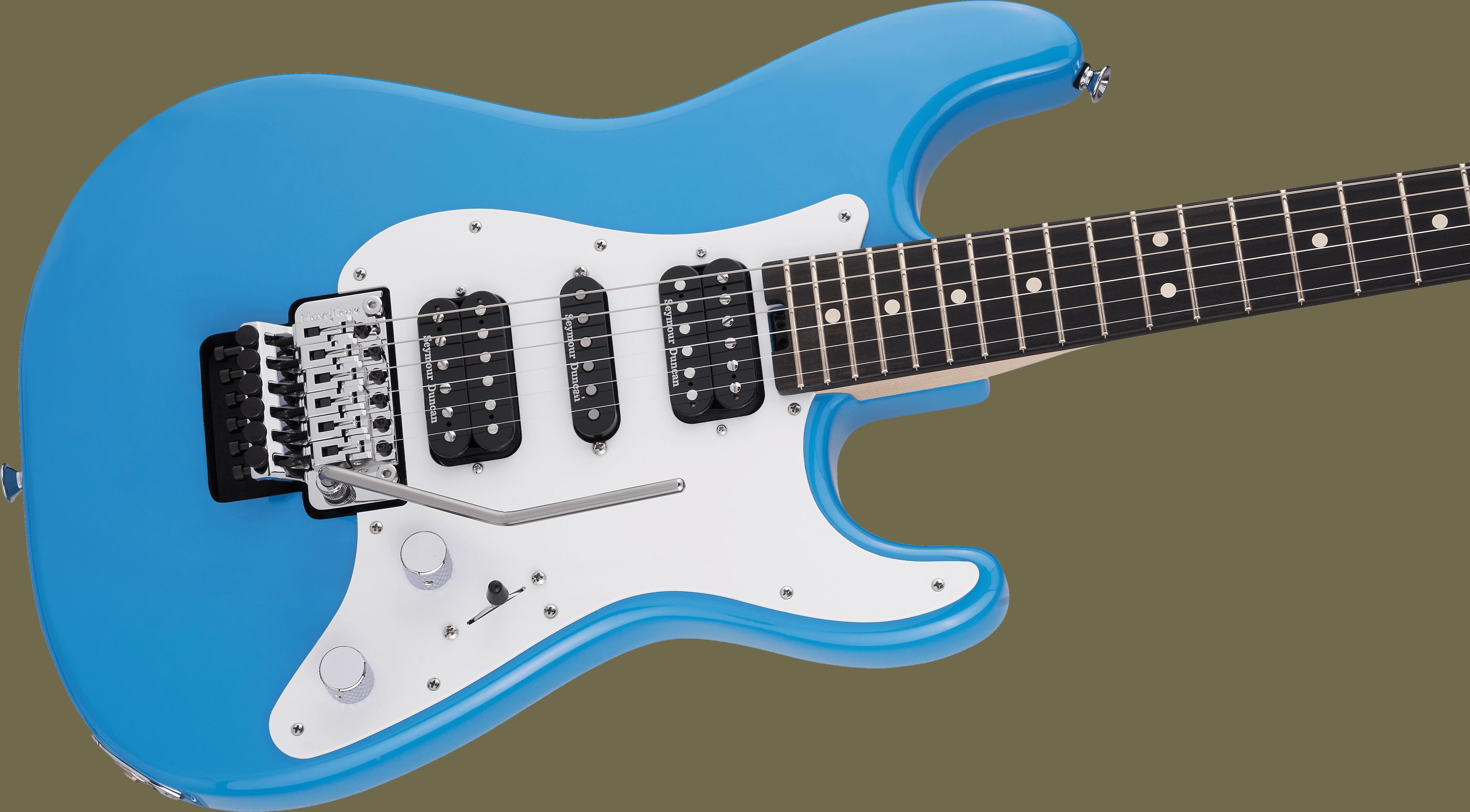 Charvel Pro-Mod So-Cal Style 1 HSH FR E, Ebony Fingerboard, Robin's Egg Blue