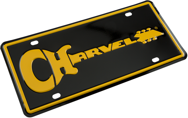 Charvel Guitar Logo License Plate
