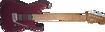 Charvel USA Select DK24 HH 2PT CM, Caramelized Flame Maple Fingerboard, Oxblood