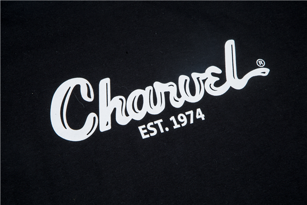 Charvel Toothpaste Logo Men's T-Shirt, Black, XXL