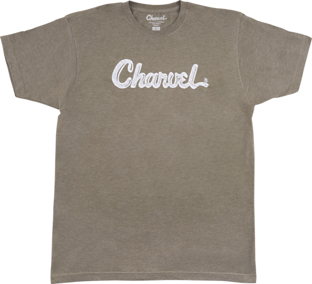 Charvel Charvel® Toothpaste Logo T-Shirt, Heather Green, XL