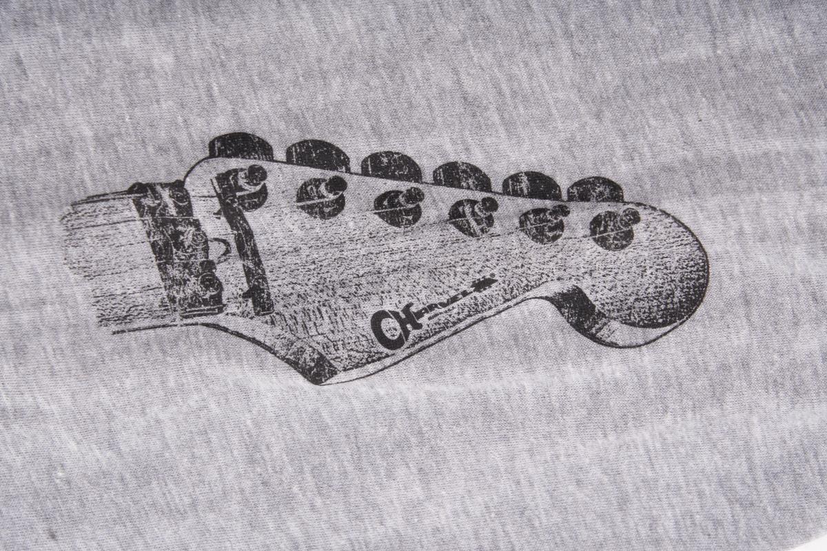 Charvel Charvel® Headstock Long Sleeve T-Shirt, Gray, M