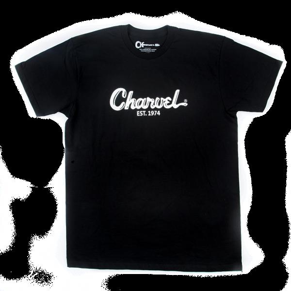 Charvel Toothpaste Logo Men's T-Shirt, Black, S