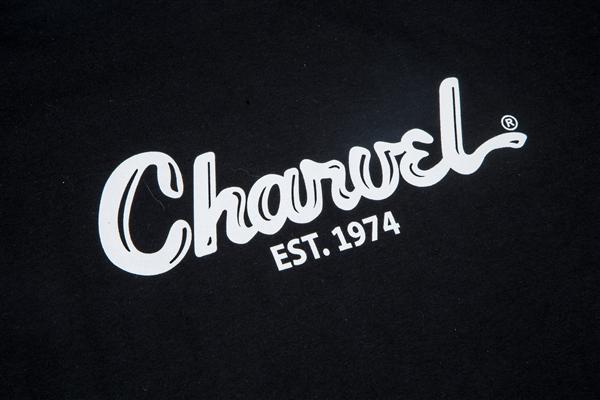Charvel Toothpaste Logo Men's T-Shirt, Black, XL