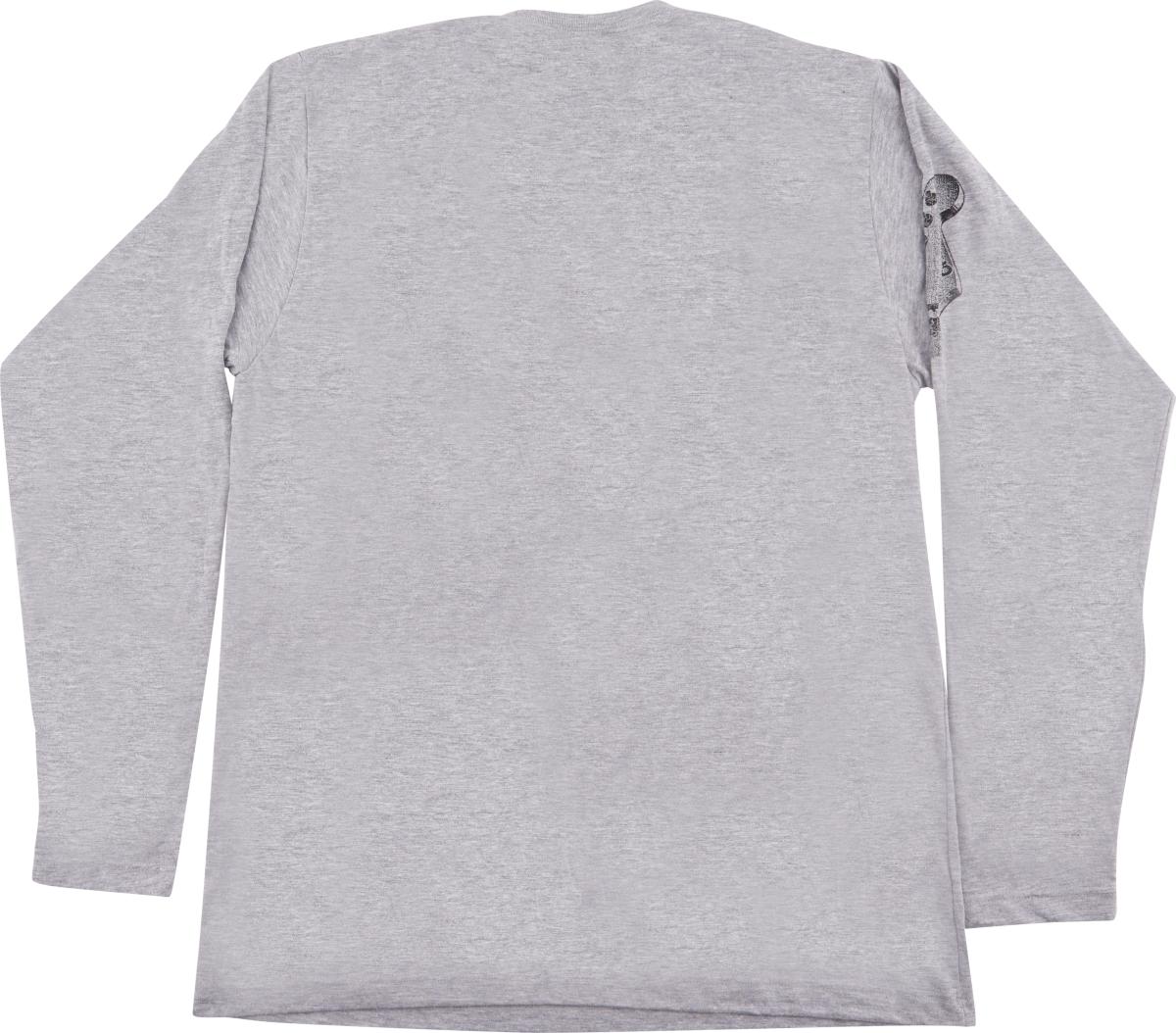 Charvel Charvel® Headstock Long Sleeve T-Shirt, Gray, XXL