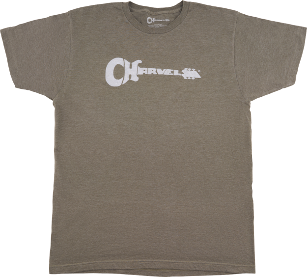 Charvel Charvel® Guitar Logo T-Shirt, Heather Green, XXL