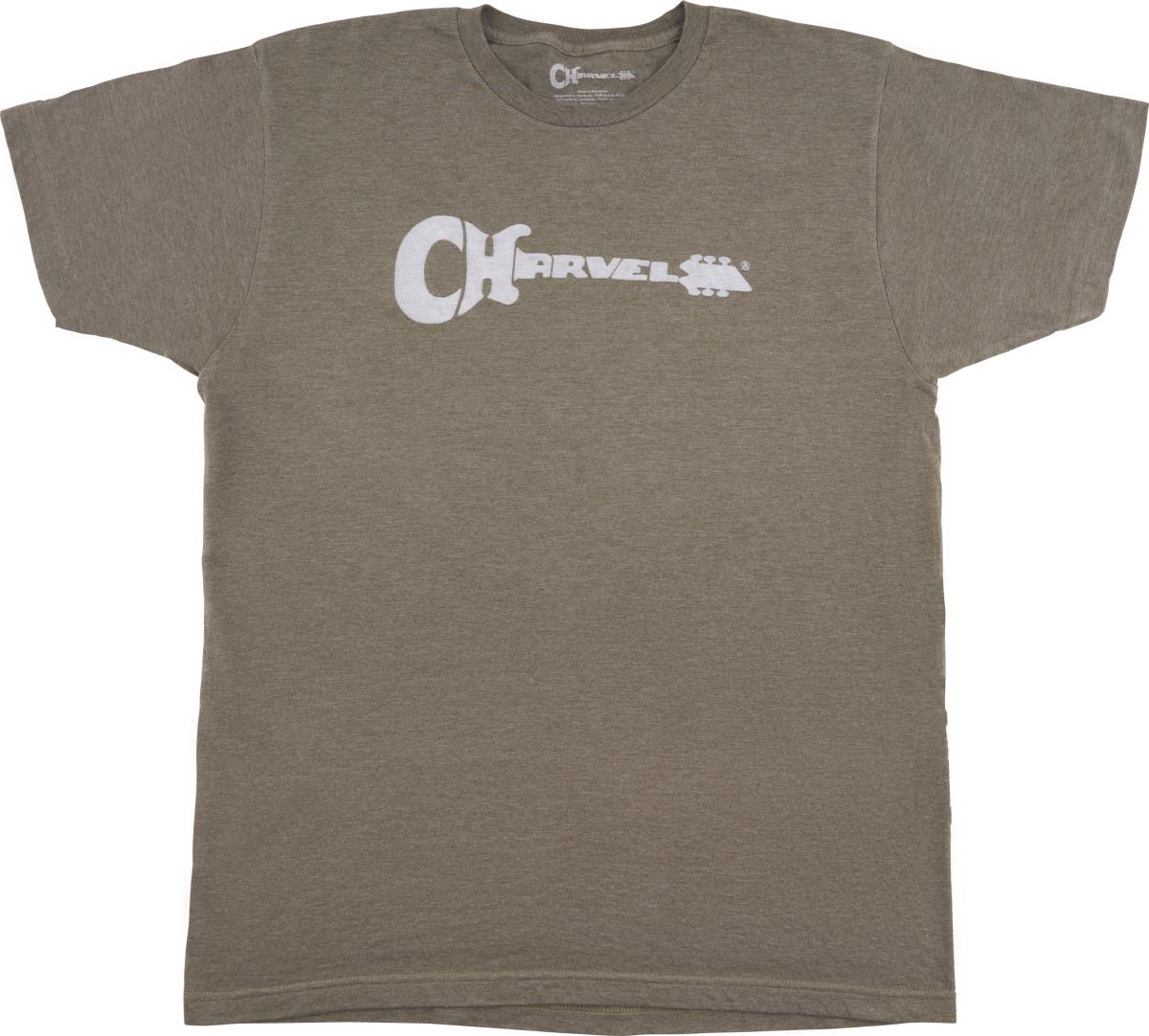 Charvel Charvel® Guitar Logo T-Shirt, Heather Green, L
