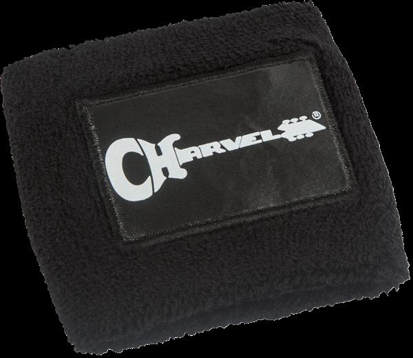 Charvel Logo Wristband, Black