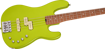 Charvel Pro-Mod San Dimas® Bass PJ IV, Caramelized Maple Fingerboard, Lime Green Metallic