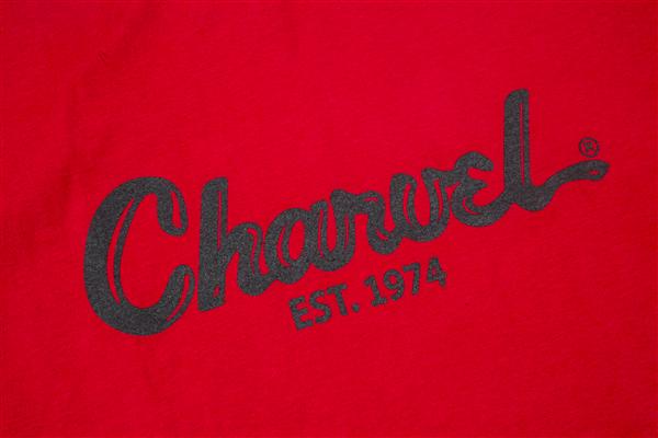 Charvel Toothpaste Logo Men's T-Shirt, Red, XXL