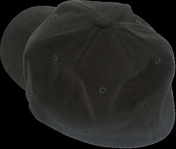 Charvel Toothpaste Logo Flexfit Hat, Black, S/M