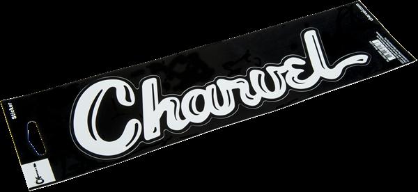 Charvel Vinyl Sticker, White