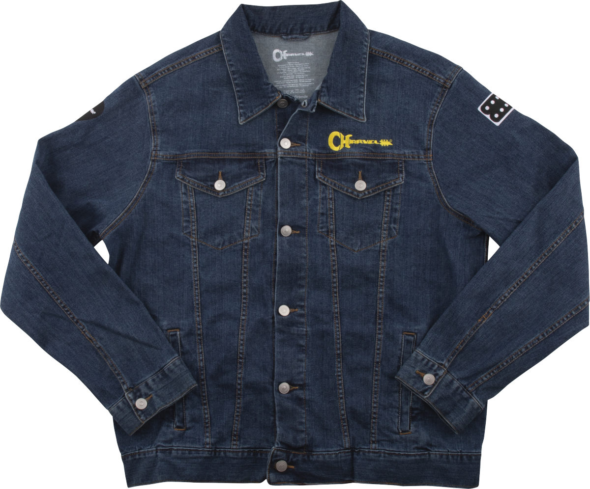 Charvel Patch Jean Jacket, Denim, XL