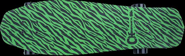 Charvel Neon Green Bengal Skateboard by Alumanati®