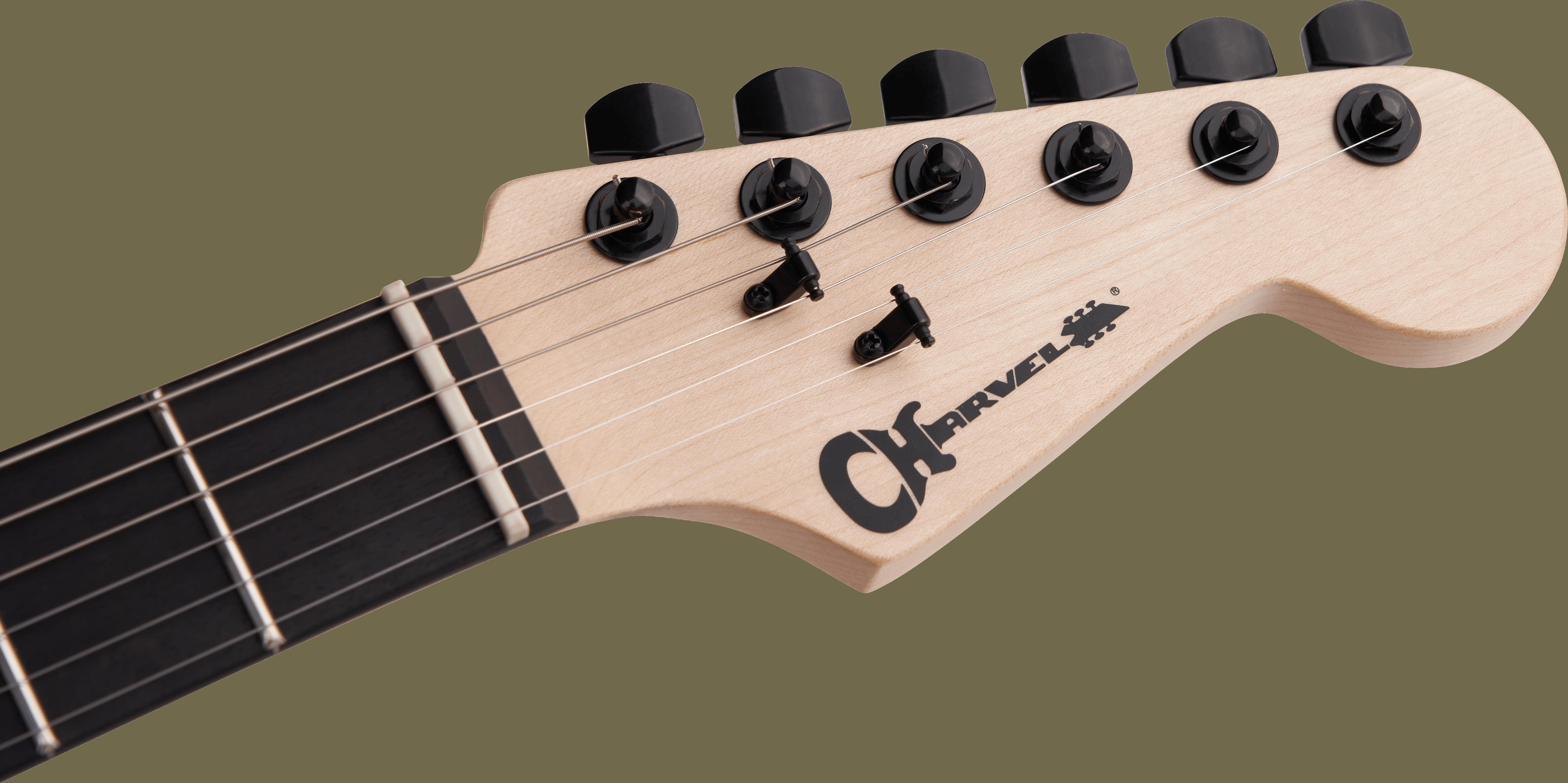 Charvel Pro-Mod DK24 HH HT E, Ebony Fingerboard, Satin Black