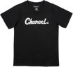 Charvel Toothpaste Logo Ladies T-Shirt, Black, XL
