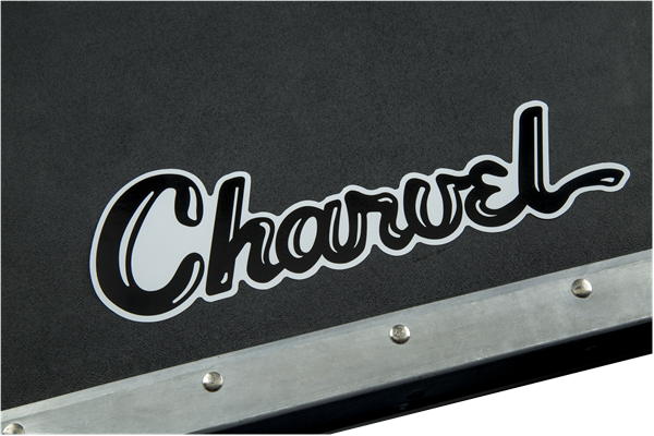 Charvel Vinyl Sticker, Black