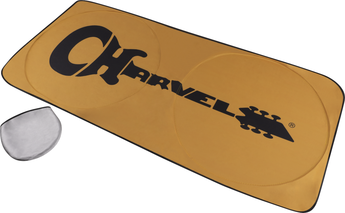 Charvel® Car Sunshade, Yellow
