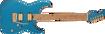 Charvel Angel Vivaldi Signature Pro-Mod DK24-6 Nova, Caramelized Maple Fingerboard, Lucerne Aqua Firemist