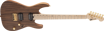 Charvel Pro-Mod DK24 HH HT M Mahogany with Figured Walnut, Maple Fingerboard, Natural