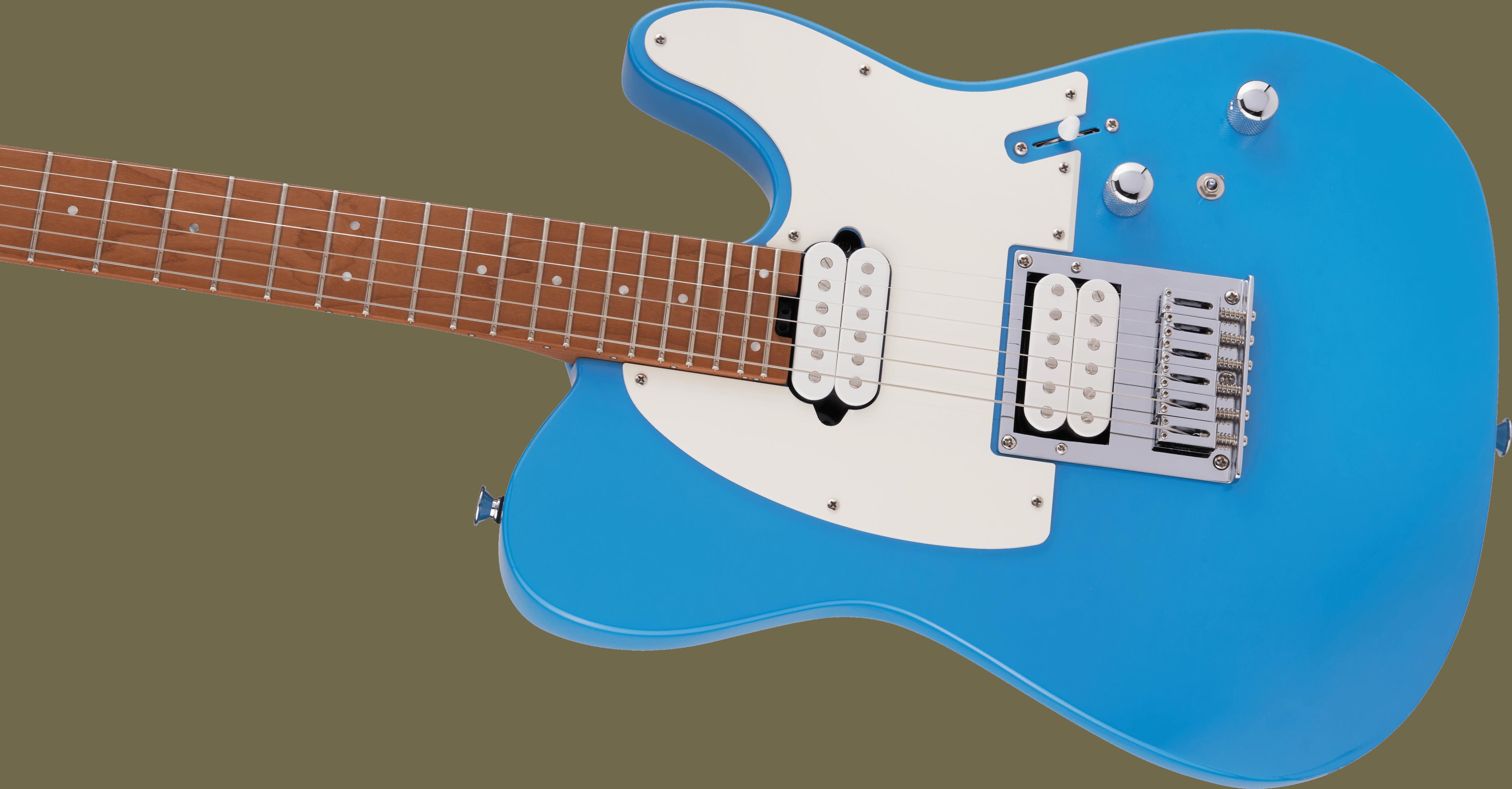Charvel Pro-Mod So-Cal Style 2 24 HH HT CM, Caramelized Fingerboard, Robin's Egg Blue