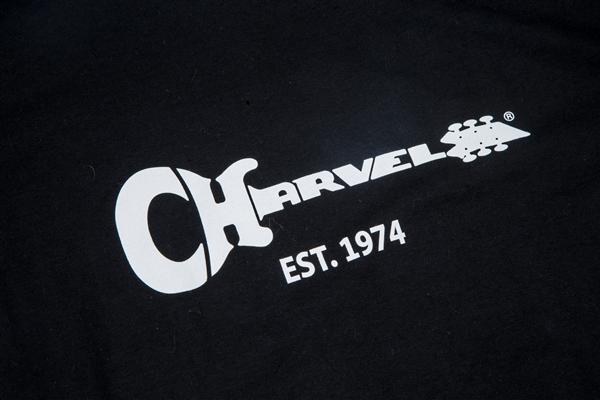 Charvel Guitar Logo Men's T-Shirt, Black, XL