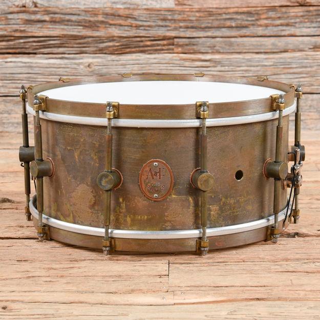 A&F 6,5x14 Raw Brass Snare