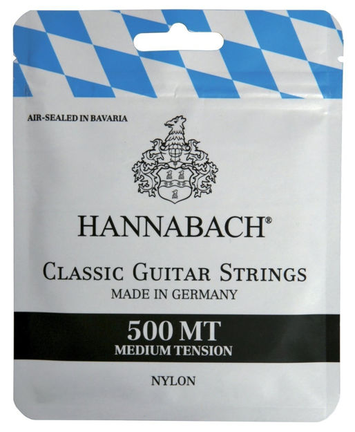 Hannabach Strings for classic guitar Series 500 Medium Tension Set medium - 500MT