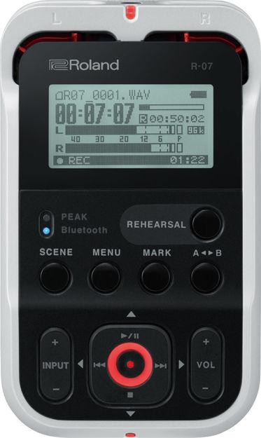 Roland R-07 (WH) PORTABLE RECORDER