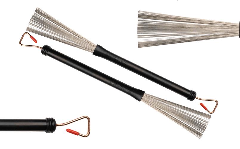 Wincent W-33M Medium Steel Wire Brush